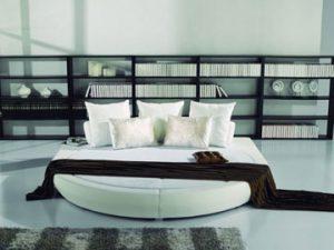 Spannbettlaken für runde Betten