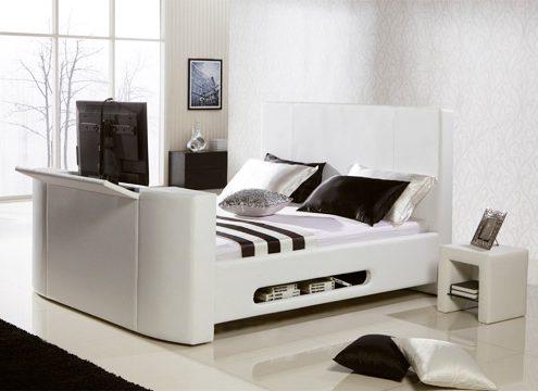 TV-Bett mit Wasserbett