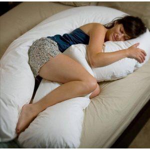 Seitenschläferkissen ideal für Seitenschläfer und Schwangere