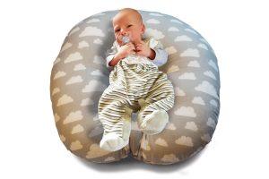 Baby Lagerungskissen Lounger LiegeKissen Nestchen KopfKissen SchlafKissen