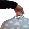 Baby Lounger Lagerungskissen mit praktischen Griff
